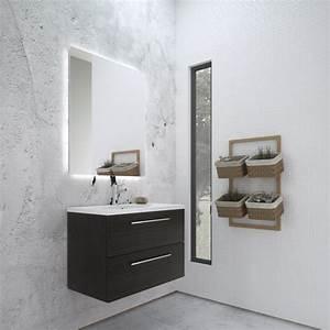 Miroir Salle De Bain Avec éclairage Intégré : miroir salle de bain avec tablette et eclairage maison ~ Dailycaller-alerts.com Idées de Décoration