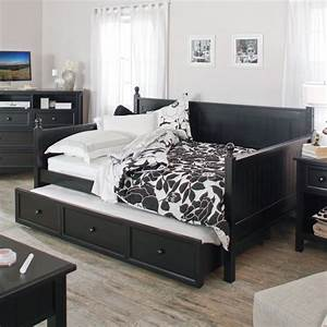 Belham Living Casey Daybed Black Full Daybeds At