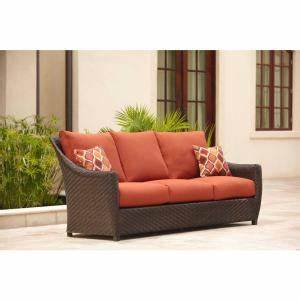 9cheap brown jordan highland patio sofa in cinnabar with With empire patio furniture covers reviews