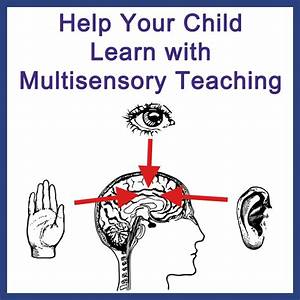 Help Your Child Learn with Multisensory Teaching