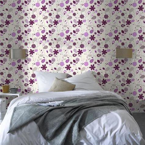 tapisserie pour chambre adulte papier peint décoration bien choisir le papier peint