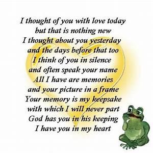 happy birthday in heaven poems | birthday love poems ...