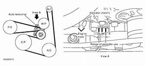 Solved  Diagram 2004 Nissan Exterra Belts