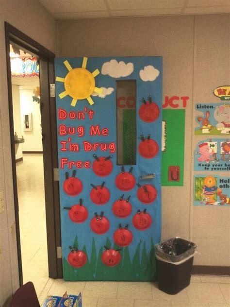 Kindergarten Door Decorating Ideas by Quot Say No To Drugs Quot Door Decoration From My Kindergarten