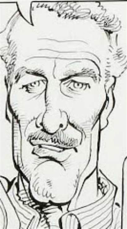 Drucker Mort Caricatures Illustrations Artist Cartoons John