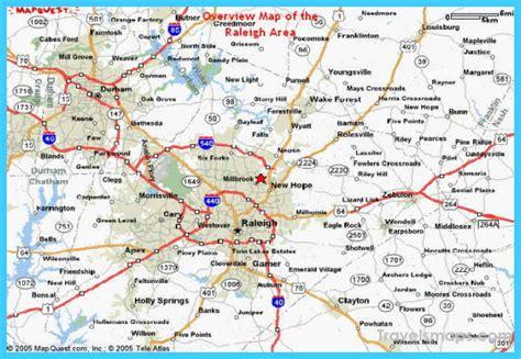 map  raleigh north carolina travelsmapscom