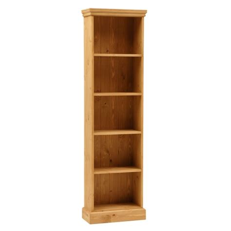 extra shelves for bookcase dorchester pine extra narrow 6ft bookcase 5 shelves m263