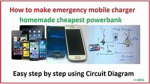 How To Make Powerbank At Home Easy