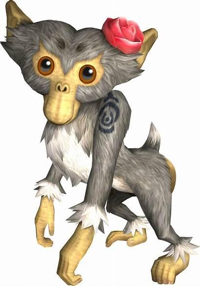 Monkey Twilight Princess Zelda Female Characters Monkeys