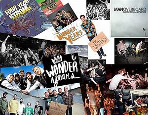 Pop Punk Band Logo Collage | www.imgkid.com - The Image ...