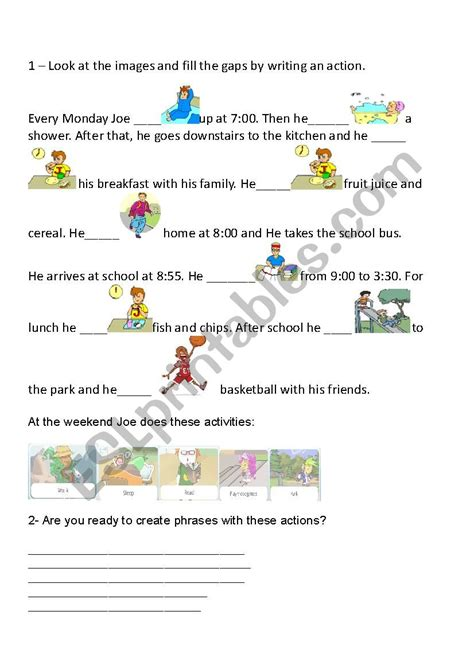 follow  images esl worksheet  sbet