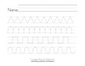 Free Printable Preschool Writing Worksheets