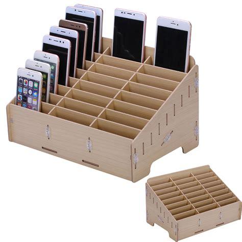 boite de rangement pour vernis multifunctional mobile phone repair tool box wooden storage box for parts