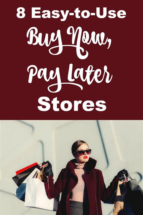 8 Easy Buy Now Pay Later Stores  Shopping Kim