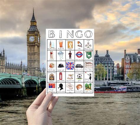 London Travel Bingo Instant Download Travel Printable Game