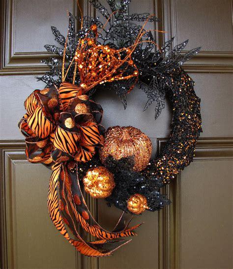 impressive halloween wreaths decorating ideas
