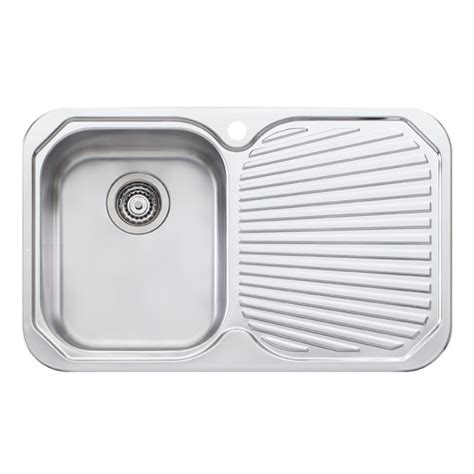 kitchen sink bunnings oliveri 770mm single bowl sink bunnings warehouse 2597