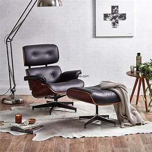 Modern, Classic, Designer, Furniture, Most, Comfortable, Leather, Reading, Chair, With, Ottoman, For, Bedroom