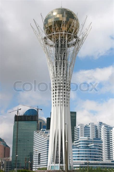 modern tower architecture stock photo colourbox