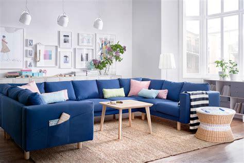 canapé en u ikea canapé bleu les meilleurs modèles pour habiller votre