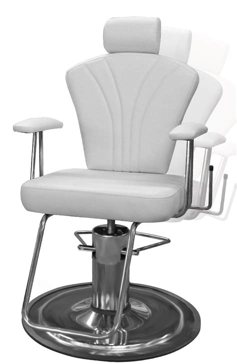 Reclining Salon Chair White by Galaxy Mfg Is A Leader And Manufacturer Of Salon