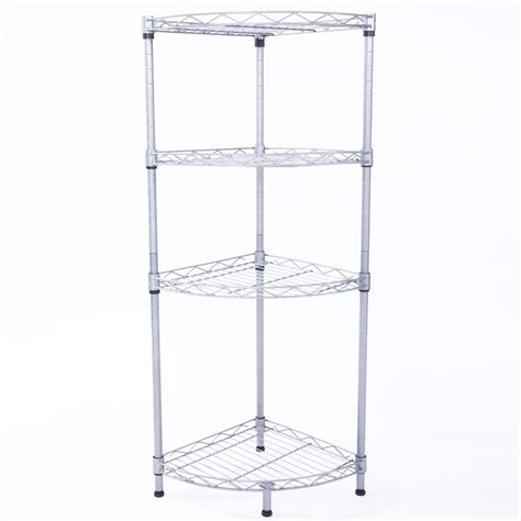 corner  tier wire rack shelving shelf storage kitchen
