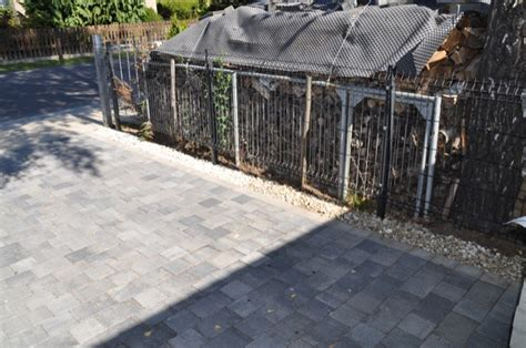 pflastersteine f 252 r auffahrt hof und wege material kosten farbe hausbau