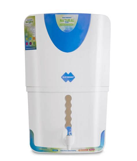 Blue Mount Natural Star Alkaline RO   UF water purifier