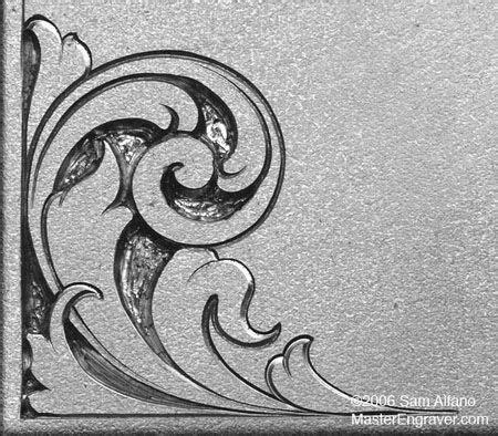 sam alfanos tips tricks  hand engravers relief