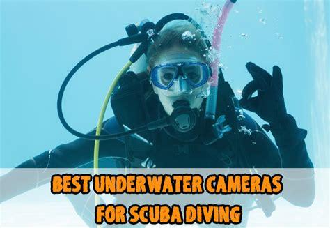 underwater cameras  scuba diving