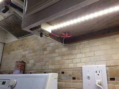 led strip under cabinet lighting diy cabinets matttroy