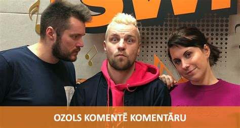 Komentē Komentāru - Ozols | Radio SWH