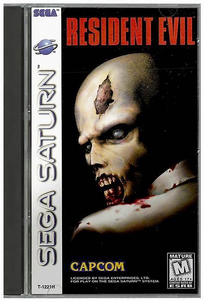 Box Resident Evil 2d Usa Saturn Emumovies