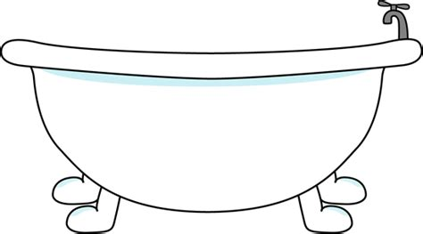 Bath Tub Clipart by Bathtub Clipart Bathtub Clip Image Large With