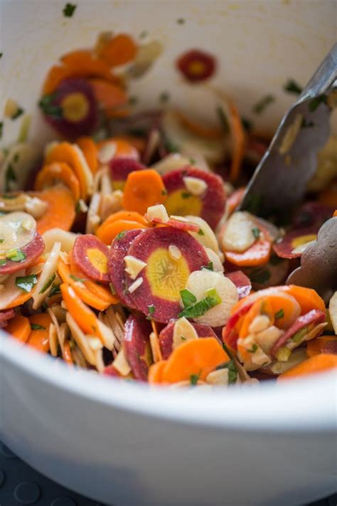 colorful carrots colorful carrot salad recipe nutritious and delicious