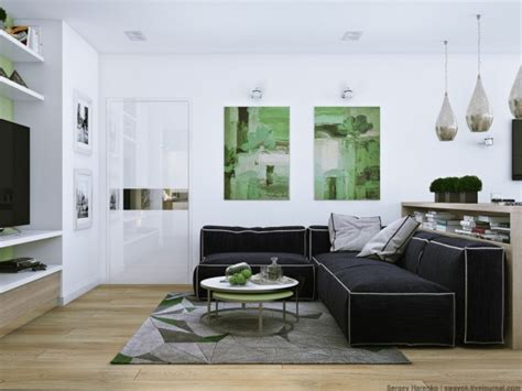 Sparkling Apartment Design by 3 Sparkling Apartments That Shine With Wonderful White
