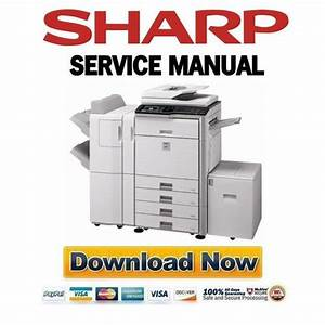 Sharp Mx-4101n 4100n Service Manual  U0026 Repair Guide