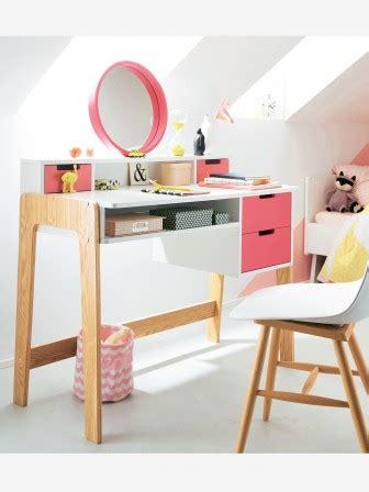 bureau coiffeuse fille bureau enfant aménager un espace de travail dans la