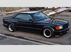 1990 MercedesBenz 560SEC AMG 60 Widebody Is Badass, But