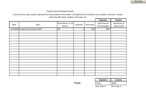 images  income expense monthly budget worksheet