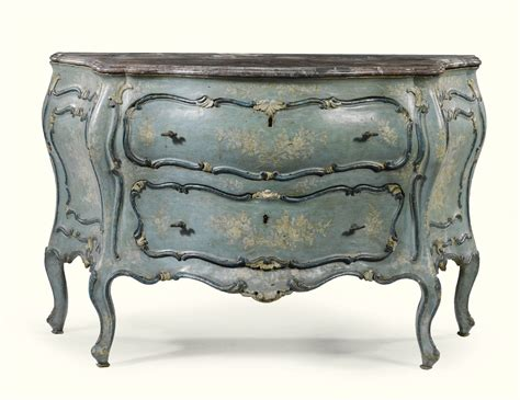 italian  tone carved blue  white lacquered