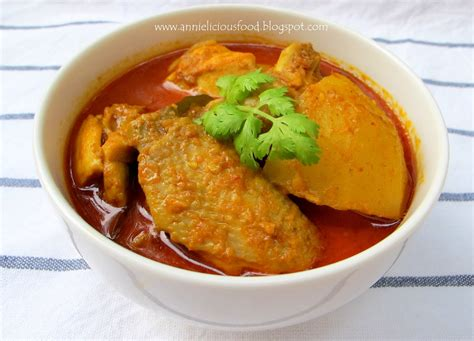 cuisine curry annielicious food curry chicken 咖喱鸡