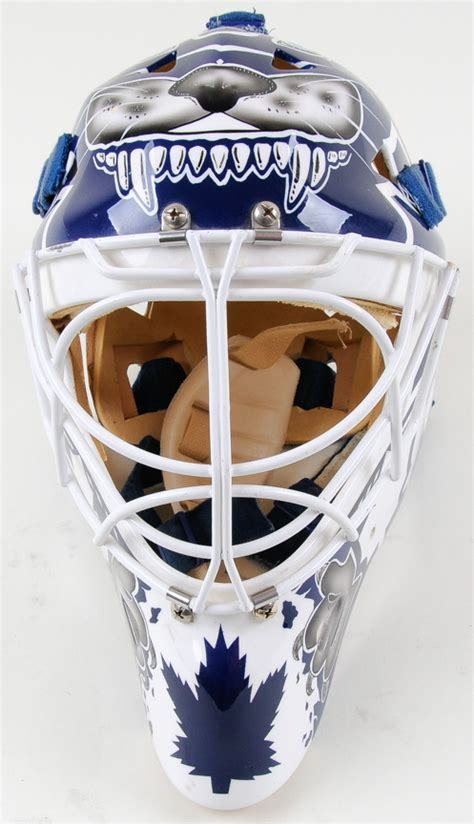 felix potvin toronto maple leafs eddy mask game issued