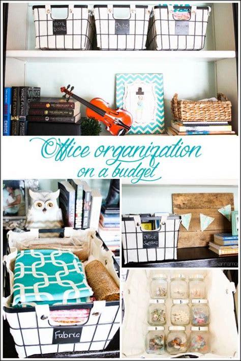 office organization tips ideas  pinterest