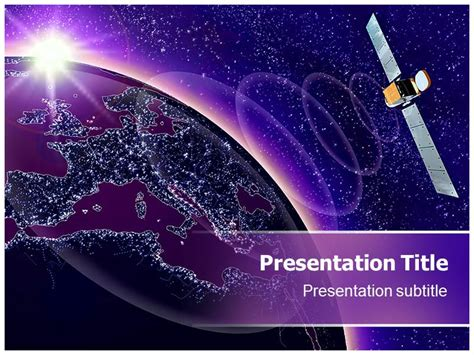 download template powerpoint 2017 satelit satellite powerpoint template funkyme info