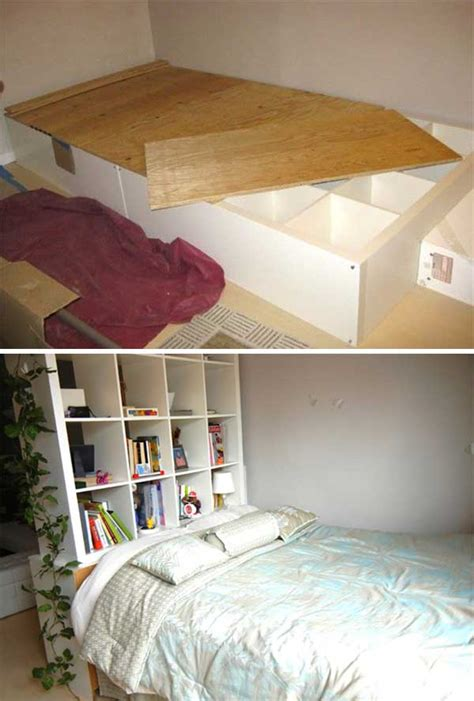 money saving ways  repurpose  reuse  bookcases