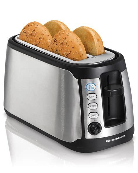 reviews of toasters hamilton 4 slice slot keep warm