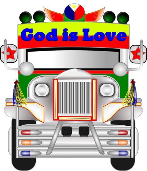 philippines jeepney vector clipart philippine jeepney