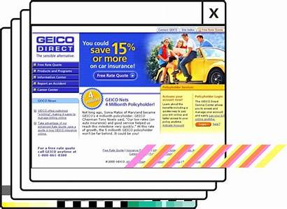 Geico Years 2001 Insurance