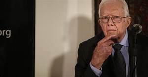 Jimmy Carter falls ill, cuts short Guyana visit